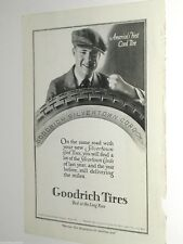 1920 GOODRICH Tire advertisement, B. F. Goodrich, Silvertown Cord