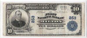 "$10 1902 PB MILTON Pennsylvania PA ((Mega Rare)) ""Only 5 on Census!""READ HISTORY"