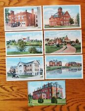 7 UNPOSTED Vintage Postcards of Alliance Ohio - Ramsey, Glamorgan, Fire Dept +++
