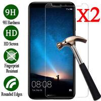 2x Temper Glass Film Screen Protector For Huawei P8 P9 P10 Lite / Plus Honor 8 9