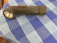 Metal army style flash light battery operated