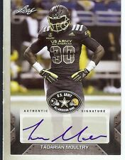 TADARIAN MOULTRY - Auburn Tigers 2017 Leaf Army Football Certified AUTOGRAPH RC