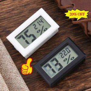 Meter Gauge Thermometer Hygrometer Digital LCD Temperature Mini Humidity TOP