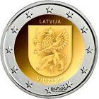 Pièce 2 euros commémorative LETTONIE 2016 - Vidzeme - UNC