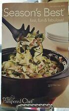 Pampered Chef Season's Best Cookbook Spring/Summer 2014