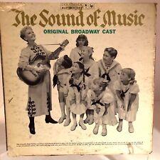 The Sound of Music LP Original Broadway Cast Mary Martin Columbia KOL 5450 1959