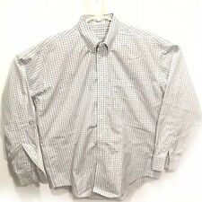 Joseph & Feiss Men's Non Iron Fitted Dress Striped Shirt Size L Plaid