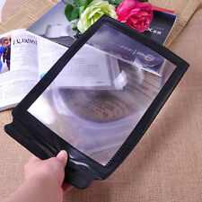 Hotsale 3X Big A4 Full Page Magnifier Sheet Magnifying Glass Reading Aid Lens