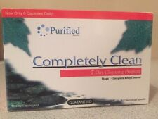 Purified Wellgenix Completely Clean 7-Day Detox 42-Caps - Ships Same Day Fast