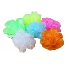 10x Bath Shower Soap Bubble Body Wash Exfoliate Puff Sponge Mesh Net Ball TRE