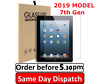 "2 X 100% Tempered Glass Film Screen Protector 7th Gen Apple iPad 2019 (10.2"")"