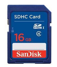 SanDisk Flash 16 GB SDHC Flash Memory Card SDSDB-016G NEW
