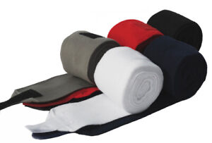 Rhinegold Fleece Bandages Navy