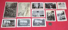 VTG WW2 B&W Photo set of 11 Maui Hawaii 1944 G.I.Joe War Postcard picture Lot