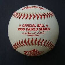 1998   RAWLINGS OFFICIAL  World Series Baseball NEW YORK YANKEES