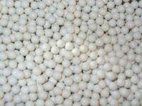 500 WHITE PLASTIC BB GUN PELLETS BULLETS 0.20g 6MM BAGGED / CATAPULT AMMO BALLS