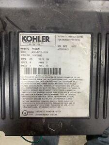 USED Kohler  Automatic Transfer Switch KSS-DCTG-0225S 225A 208V 3Ph 3Pole