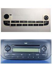 Pegatinas Para Restaurar Los Botones  Radio Cd Fiat Punto Grande Punto 2005-2009