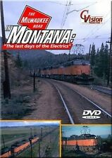 Milwaukee Road in Montana Last Days of Electrics DVD Little Joes 16 Mile Canyon