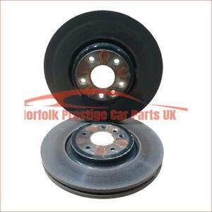 Genuine Jaguar XE Front brake discs 2.0 Diesel and Petrol T4N1799 GX731125AB