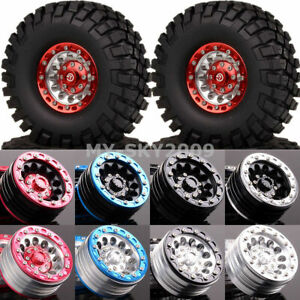 "4P RC 1/10th Rock Crawler 1.9"" Alloy Wheel & 112mm Super Swamper Rocks 1060-7038"