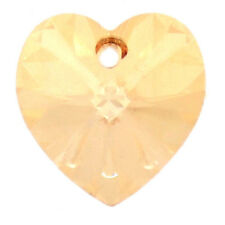 Genuine SWAROVSKI 6228 AB XILION Heart Crystals Pendants * Many Color/Size
