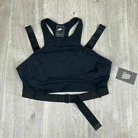 "Nike Wmns Sportswear Tank Top ""Tech Pack"" Black Large NEW AJ6027 010"