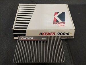 BRAND NEW DISPLAY RARE OLD SCHOOL KICKER 200Si MADE IN USA