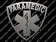 Paramedic EMS EMT Metal Wall Art Man Woman Cave Sign Medic Christmas Gift Idea