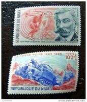 Niger - Stamp - Yvert and Tellier Aerial N°116 & 159 N