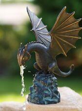 Bronzeskulptur,Drache,Statuen,Gartenfigur,Dekor,Tierfigur,Garten,