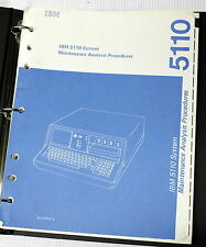 IBM 5110 System Maintenance Analysis Procedures SY31-0553-2  *1979*