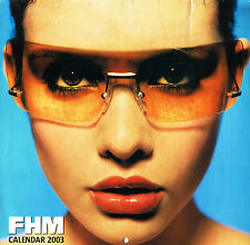 FHM CALENDAR 2003 Jennifer Love Hewitt SHAKIRA Carmen Electra RACHEL STEVENS
