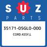 35171-05GL0-000 Suzuki Cord assy,l 3517105GL0000, New Genuine OEM Part