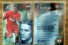 Futera Platinum 2001 Prestige PROMO LIVERPOOL PR3 Michael Owen Card Ltd  of 400