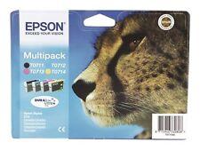 Mehrfarbige Epson Drucker-Tintenpatronen für Ablaufdatum (MM/JJJJ) 07/2015