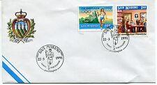 1991-03-22 San Marino Verso Barcellona preolimpica ANNULLO SPECIALE Cover