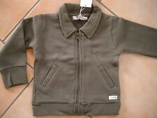 (47) Imps & Elfs unisex Baby Sweatjacke + Einschub Taschen & Logo Aufnäher gr.80
