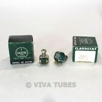 NOS NIB Vintage Lot of 2 Clarostat 48M9  Potentiometers 5 MEG ohm