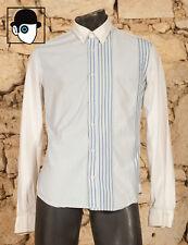 """MARITHE ET FRANCOIS GIRBAUD-Jean 's 90 s Shirt-UK 16-EU 41-Large - (Q)"