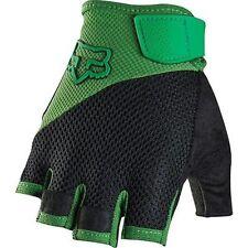 Fox Reflex Gel Short Finger Mountain Bike MTB Gloves Green/Black Size S New