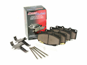 Front Brake Pad Set For 1972 TVR 3000M G487QD Posi-Quiet Ceramic With Shims