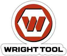"Wright Tool Hand Tools USA Car Bumper Window Tool Box Sticker Decal 5""X4"""