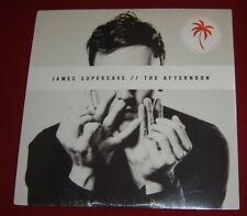 "JAMES SUPERCAVE - The Afternoon - Vinyl (12"" + MP3 download code) NEW SEALED !"