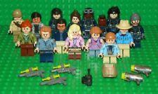 LEGO - 2018 Jurassic World - Mini Fig Collection - 15 Mini Figure Lot