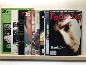 Independent Film, Movie Video Production Magazines lot of 9 issues