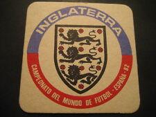 INGLATERRA. POSAVASOS CAMPEONATO MUNDIAL DE FUTBOL ESPAÑA 82