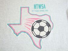 Vintage NTWSA North Texas Women's Soccer Association Champs 1992 90's T Shirt XL