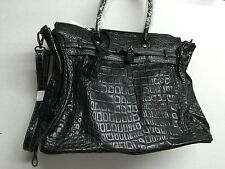 DESIGNER INSPIRED FASHION HANDBAG/SHOULDER BAG W/LOCK **NEW**FREE SHIP LAST ONE