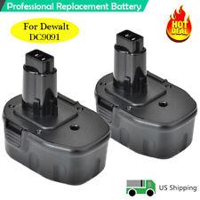 2 Pack Hot DC9091 Replace Battery for 14.4V DEWALT DW9091 DW9094 14.4 Volt Tools